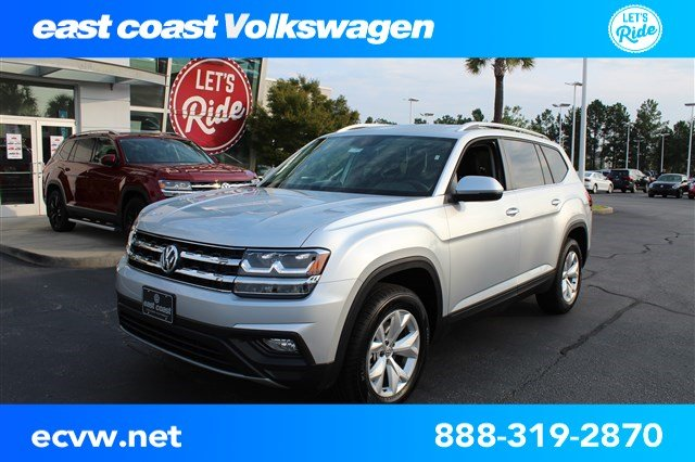 New 2018 Volkswagen Atlas 3.6L V6 SE