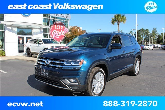 New 2019 Volkswagen Atlas V6 SEL with 4MOTION®
