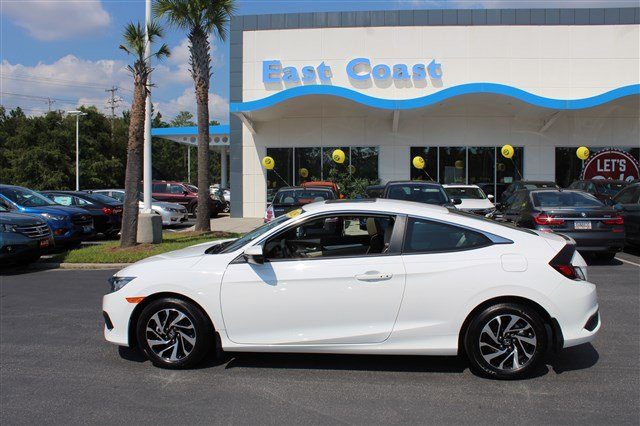 Superior Pre Owned 2018 Honda Civic Coupe LX P Low Miles, 1 Owner