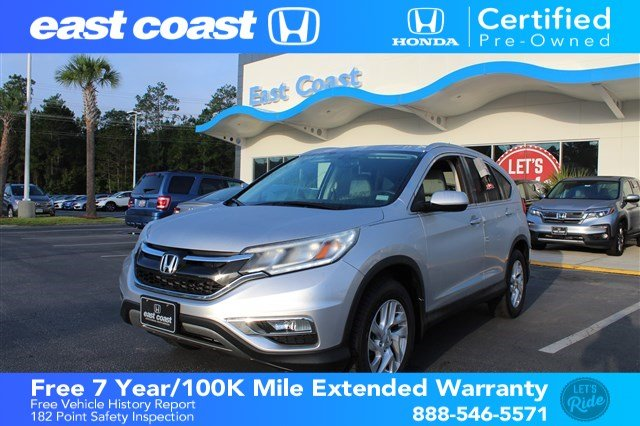 Pre Owned 2016 Honda CR V EX L Low Miles, Sunroof