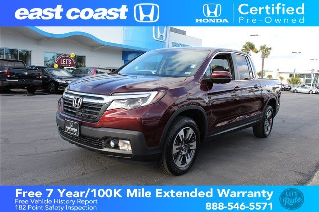 Pre Owned 2017 Honda Ridgeline Rtl T W Navigation Bluetooth Crew
