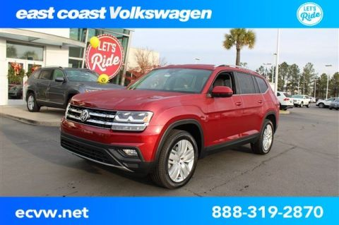 New 2019 Volkswagen Atlas V6 SE with Technology