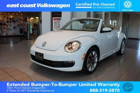 Certified Pre-Owned 2016 Volkswagen Beetle Convertible 1.8T SEL