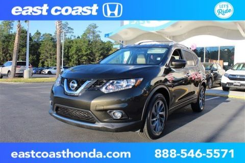 Pre-Owned 2016 Nissan Rogue SL Low Miles, Navigation